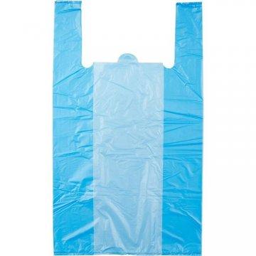 Пакет (майка) ПЭНД 0,007*(240+60*2)*420 голубые (0,200/5,000)