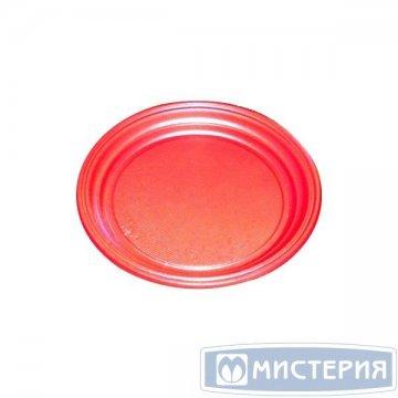 Тарелка d 170мм, красн., ПС 100 шт/упак. 2 800 шт/кор.