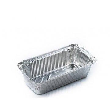 SPM2L без лого контейнер из пищевой алюминиевой фольги 100шт/кор
