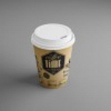 185 ГН Стакан кофе тайм 60шт/уп, 1500шт/кор