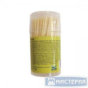 Зубочистки 65 мм, в ПС стакане (12 банок в запайке) 200 штук/упак 480 упак/короб