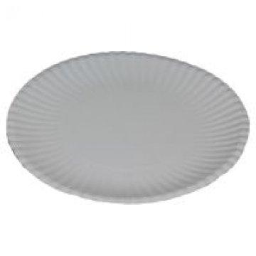 Тарелка бумажная белая D23 1000шт/кор