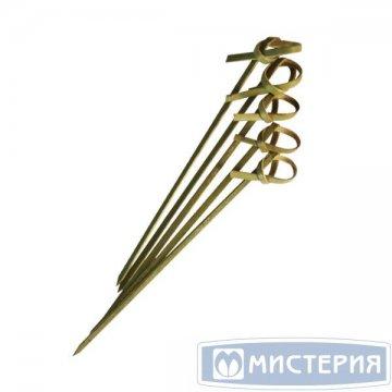 Пика Узелок, бамбук, 100мм 100 шт/уп 40 уп/кор