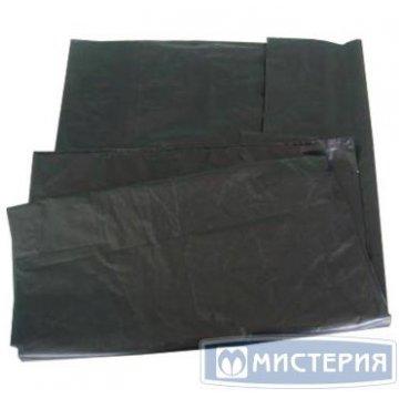 Мешок д/мусора 240л 100х140см 55мкм черный ПВД 25шт/уп 25 шт/уп 200 шт/кор