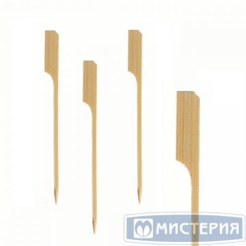 Пика Гольф деревянная. 9см (х100) (х100/4000)