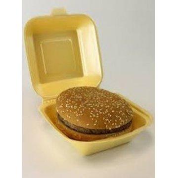 Контейнер для гамбургера большой белый HB6 EPS