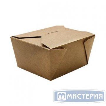 Коробка универсальная д/лапши, вторых блюд и гарниров ECO FOLD BOX 900мл, 165х130х50мм, 240 шт./кор