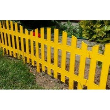 Забор декоративный RENESSANS №2 артикул 50211, 7 шт.,длинна 3.10м, желтый