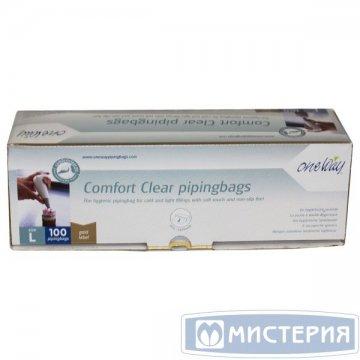 Мешок кондитерский в ролике COMFORT CLEAR, 53 см, прозр. 100 шт./упак. 10 упак/кор