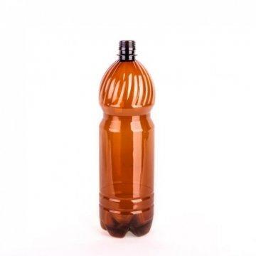 Бутылка из ПЭТ, РСО 1810, тип III-Г, ХПЩ, 0,50 дм3, коричневая