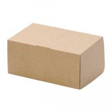 Коробка DoEco 230х140х60мм ECO CAKE 1900, коричн. 300 шт./уп 300 шт./кор