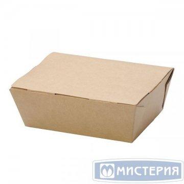 Коробка DoEco 150х115х50мм ECO LUNCH 600 BIO, коричн. (ланч-бокс) 25 шт/упак 500 шт/кор