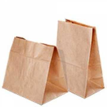 Упаковка бумажная: пакет с печатью Bliny 15*12см 1*500шт