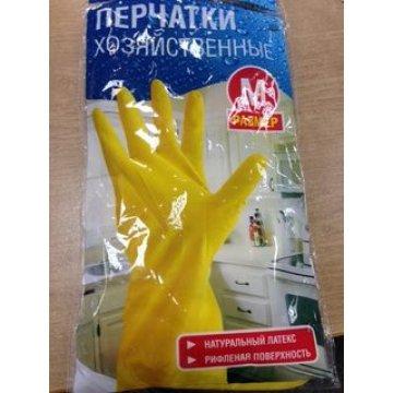 Перчатки  хозяйственные латексные, размер L 1пар/уп 240 пар/кор