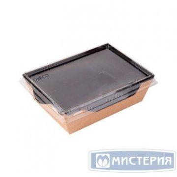Коробка DoEco 220х160х55мм ECO OpSalad 1000, (Салатник), Black Edition 50 шт/упак 150 шт/кор
