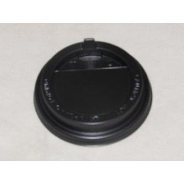 Крышка д.63 мм с клапаном чёрная к стакану 100 мл 90шт/уп 4320шт/кор