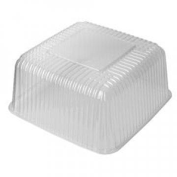 Упаковка прям. торт. 4,0л., 195х195х110, ЭКОНОМ,прозрачная, ОПС  200 шт./уп.  200  шт/кор
