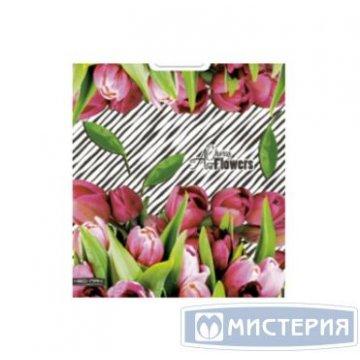 Пакет (мешок) проруб. ПВД 47х38см, 60мкм, Хор цветов 25  шт/уп 1000 шт./кор