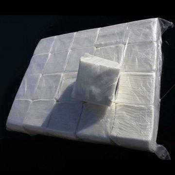 Салфетки неокрашенные 100штук в пачке (ППМ) 25уп/мешке
