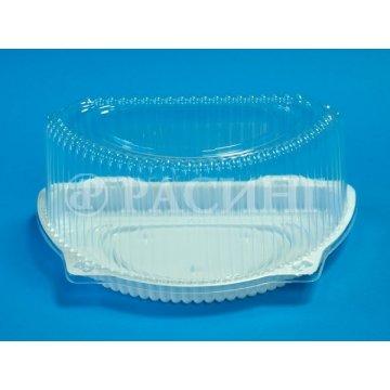 Упаковка полимерная (из биаксиальноориентированных материалов):тортница УП-Т-201В