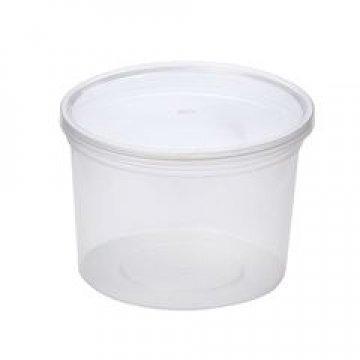 Крышка прес./мёд, ведёрко d=112мм, полупрозрачная, ПП 800 шт./уп. 800 шт./кор.