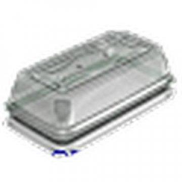 Контейнеры одноразовые пласстиковые упаковочные УК-200Н, ППП, коричневая, ПЩ-0,48