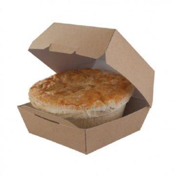 Коробка для гамбургера (Крафт), серийный, (200шт/кор)
