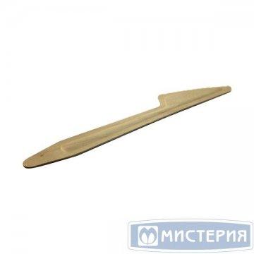Нож 165мм, дерево 100 шт/уп 30 уп/кор