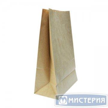 Пакеты на вынос (240+140)х400мм коричн.,70г/м2, крафт бум. б/ручек 400 шт./уп. 400 шт./кор