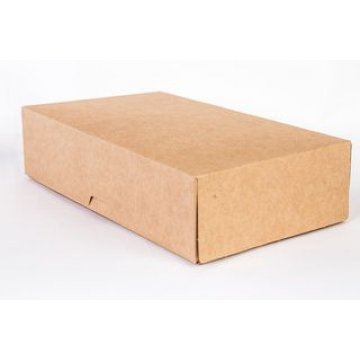 Коробка DoEco 120х85х50мм ECO TABOX NEW 500, коричн. 600 шт./уп. 600 шт./кор