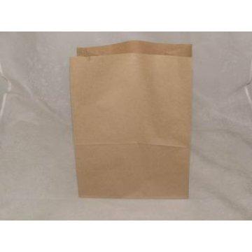 Пакеты на вынос ECO BAG (220+120)х290 коричн. крафт  50 г/м2  1000шт./уп 1уп/кор