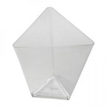 Форма д/фуршетов, 70мл, 67х67мм,, Triangle, прозрачн., ПС 25  шт/уп 20 уп/кор