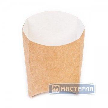 Коробка д/картоф фри ECO FRY M крафт 50х105х110мм 50 шт/упак 1 200 шт/кор.