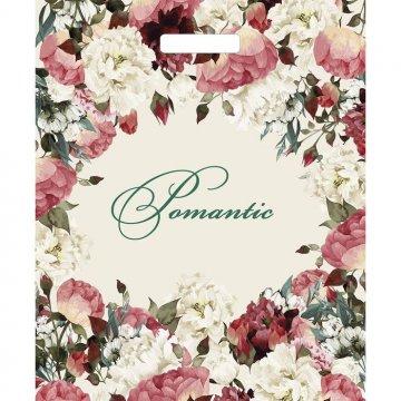 Пакетпроруб.38*45см,ПВД,Благородные цветы глянцевый 50 шт/уп 500 шт./кор