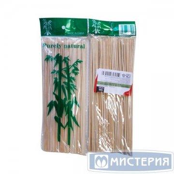 Палочки д/шашлыка, d 3мм, 300мм, бамбук 100 шт/уп 100 уп/кор