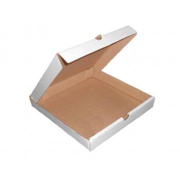 330*330*30 Ящик из гофрированного картона с БПС белая (50) РБ