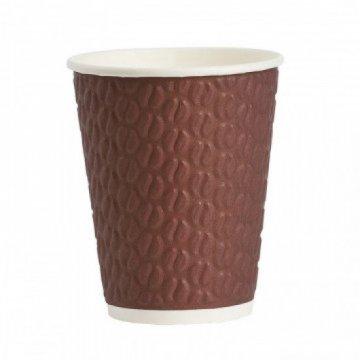 Стакан бумажный 200мл NDW9 Кофейные зерна 37шт/уп, 925шт/кор