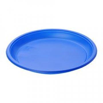 Тарелка d 210мм, синяя, ПС 50 шт/уп 1200 шт/кор