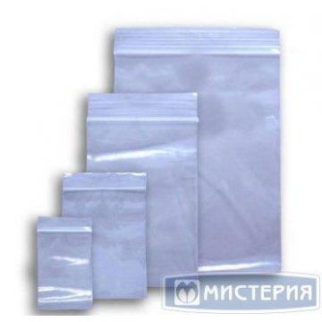 Пакет Zip-Lock ПВД 12х18см 40мкм 1000  шт/уп 6000 шт./кор.