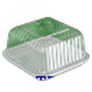 Контейнеры одноразовые пластиковые упаковочные УК-217НА, ППС, коричневая, ПЩ-0,34