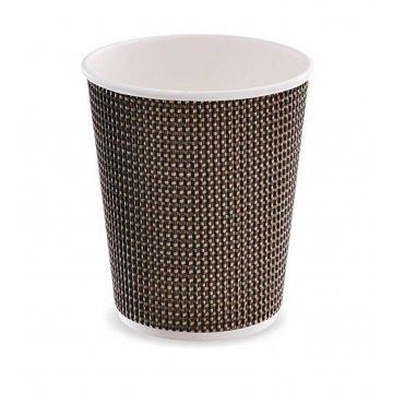 Стакан бумажный двухслойный 8 oz (280 мл) 3D design 25шт/уп 500шт/кор
