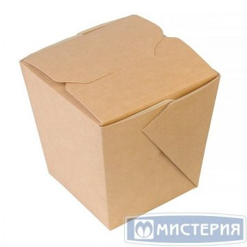 Коробка д/лапши картонная склеенная ECO NOODLES gl 460мл, 60х80х100мм, 10 шт./уп. 240 шт./кор.