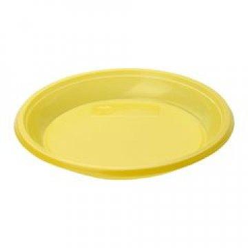 183570/ Тарелка дес., d 170мм, жёлт., ПС  12 шт/уп