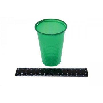 Стакан 200 мл зеленый (ИнтроПластик 3000/100)