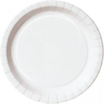 Тарелка d 180мм, глубок., бел., ламин., картон 50 шт./уп. 800 шт./кор