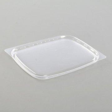 Крышка для контейнера 108х82  прозрачная ПП (100) (10уп/кор)