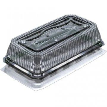 Контейнеры одноразовые пласстиковые упаковочные УК-200ВА-01, ПЭТ, прозрачная, ПЩ-2,95Б
