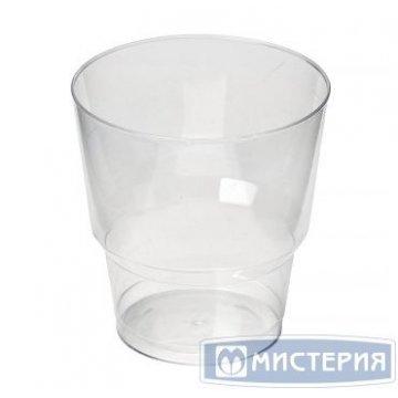 Стакан д/хол 0.20л Кристалл Прозрачный, ПС 6шт/уп 40упак/кор