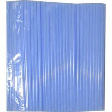 Трубочки д/кокт.прямые d=8мм L=240мм, голубые ПП  250 шт/уп  23 уп/кор