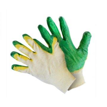 Перчатки вязаные с двойным латексным покрытием 200/10 (1х10х200)